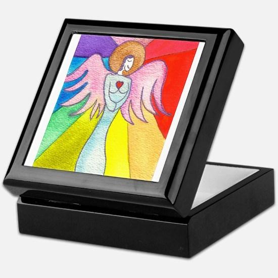 Rainbow Ray Angel Keepsake Box