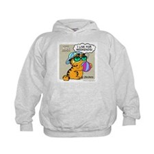 I Live For Weekends Kids Hoodie