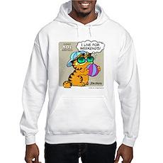I Live For Weekends Hooded Sweatshirt