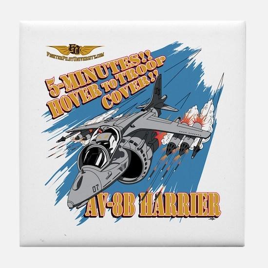 AV-8B Harrier Tile Coaster