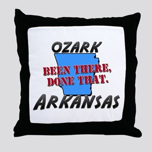 ozark arkansas - been there, done that Throw Pillo