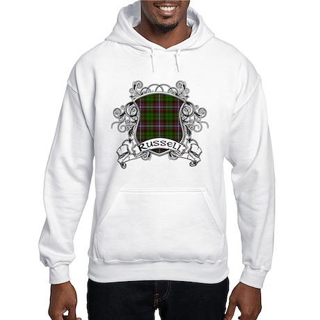 Russell Tartan Shield Hooded Sweatshirt