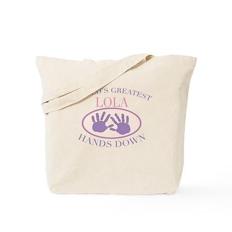 Best Lola Hands Down Tote Bag