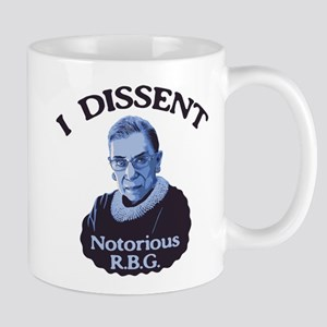 Notorious RBG Stainless Steel Travel Mugs