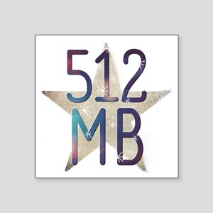 512 Mb Sticker