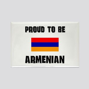 Proud To Be ARMENIAN Rectangle Magnet