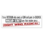 Radical Bumper Sticker (10 pk)
