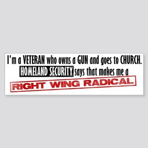 Radical Bumper Sticker