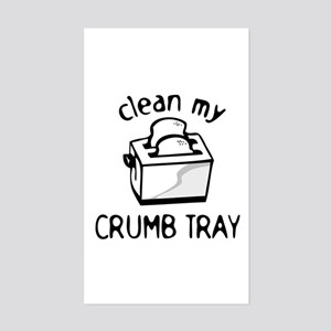 Toaster Kitchen Cook Humor Sticker (Rectangle)