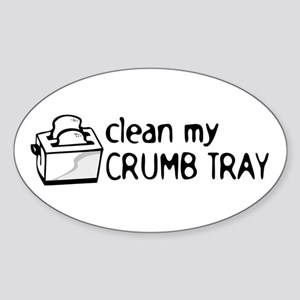 Toaster Kitchen Cook Humor Sticker (Oval)