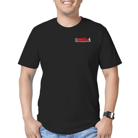 WAWSL Men's Fitted T-Shirt (black)