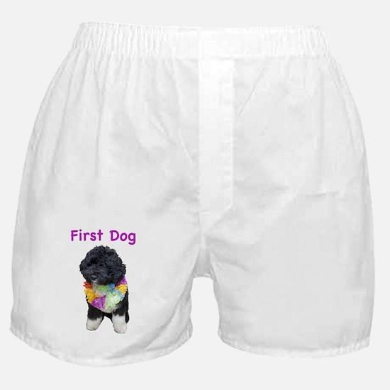 Bo First Dog Boxer Shorts