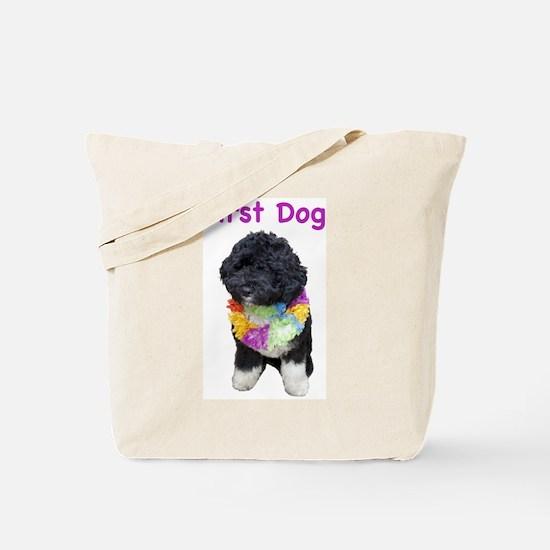 Bo First Dog Tote Bag