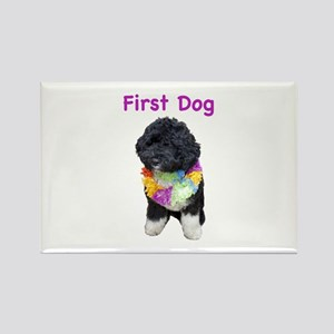 Bo First Dog Rectangle Magnet