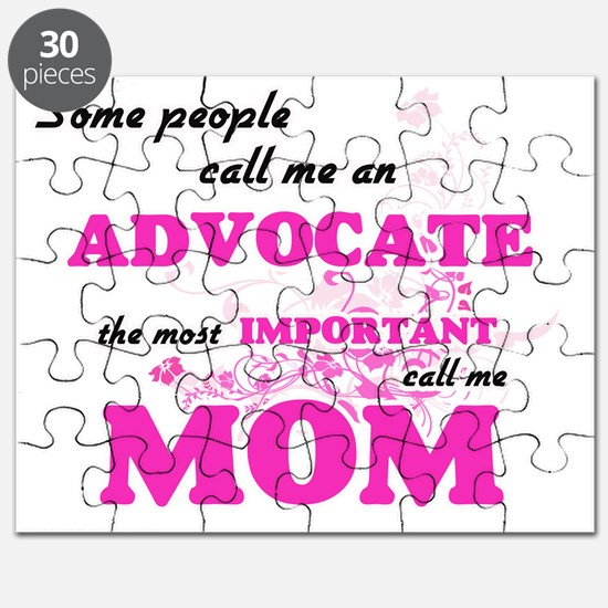 Some call me an Advocate, the most importan Puzzle