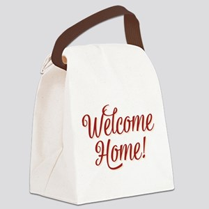 Welcome home Canvas Lunch Bag