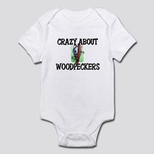 Crazy About Woodpeckers Infant Bodysuit