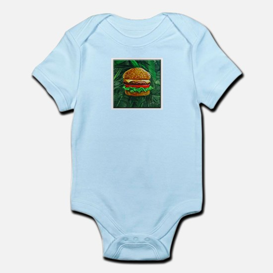Tropical Cheeseburger Infant Bodysuit
