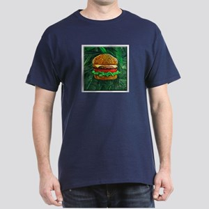 Tropical Cheeseburger Dark T-Shirt
