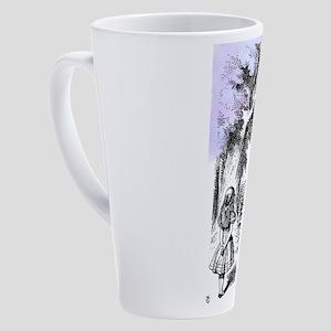 Were All Mad Here! 17 oz Latte Mug
