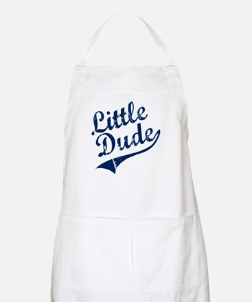 LITTLE DUDE (Script) Apron