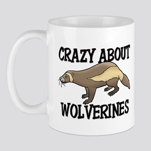 Crazy About Wolverines Mug