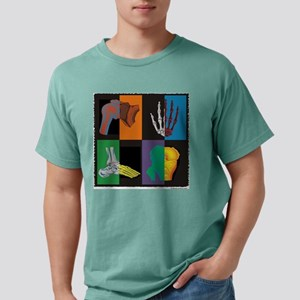 joints, square multicolor T-Shirt