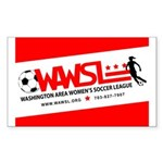 WAWSL Full Info Rectangular Stickers (10 pack)