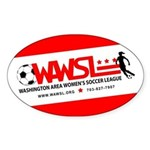 WAWSL Equipment Stickers: Oval