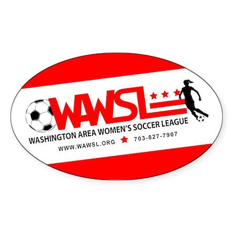 WAWSL Equipment Stickers: Oval