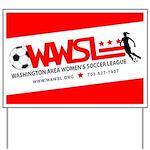 WAWSL Yard Sign