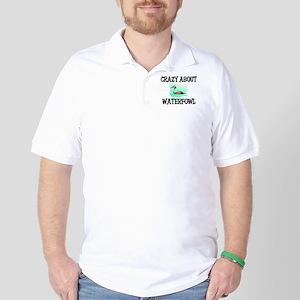 Crazy About Waterfowl Golf Shirt