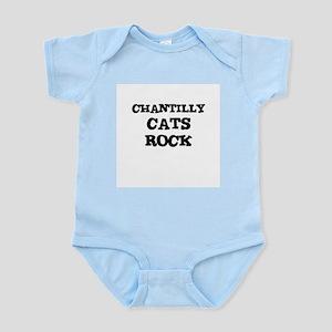 CHANTILLY CATS ROCK Infant Creeper