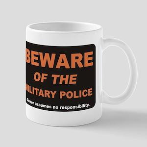 Beware / Military Policeman Mug