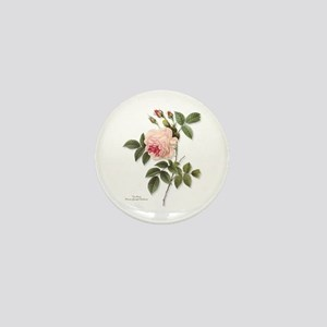 Tea Rose Mini Button