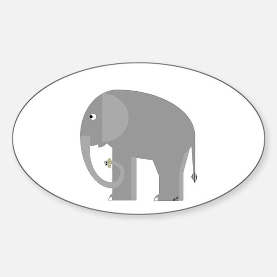 Peanuts Sticker (Oval)