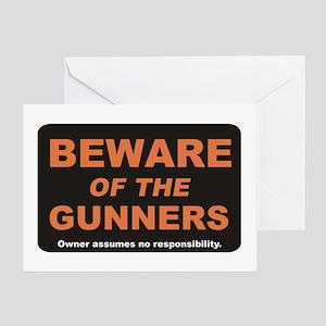 Beware / Gunner Greeting Card