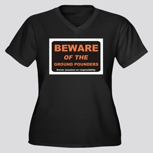 Beware / Ground Pounder Women's Plus Size V-Neck D