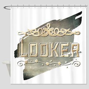 Looker Shower Curtain