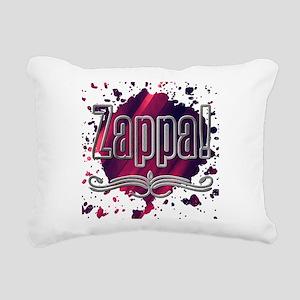 Zappa! Rectangular Canvas Pillow