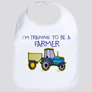 I'm Training To Be A Farmer Bib