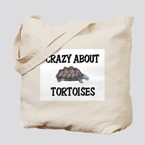 Crazy About Tortoises Tote Bag