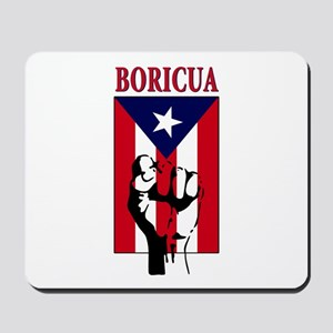 Puerto rican pride Mousepad