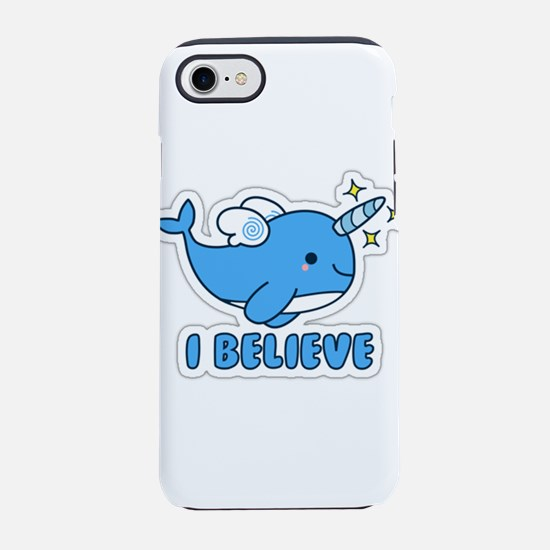 Narwhal I Believe iPhone 7 Tough Case