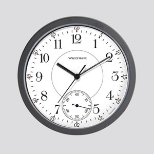 Waltham Railroad Pocket Watch 1 Wall Clock