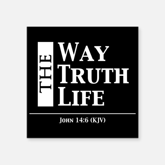 The Way, The Truth, The Life Sticker