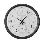Waltham Railroad Pocket Watch 2 Large Wall Clock