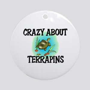 Crazy About Terrapins Ornament (Round)