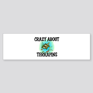 Crazy About Terrapins Bumper Sticker