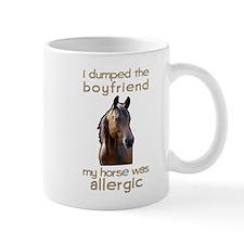 Boyfriend Allergic Horse Mug